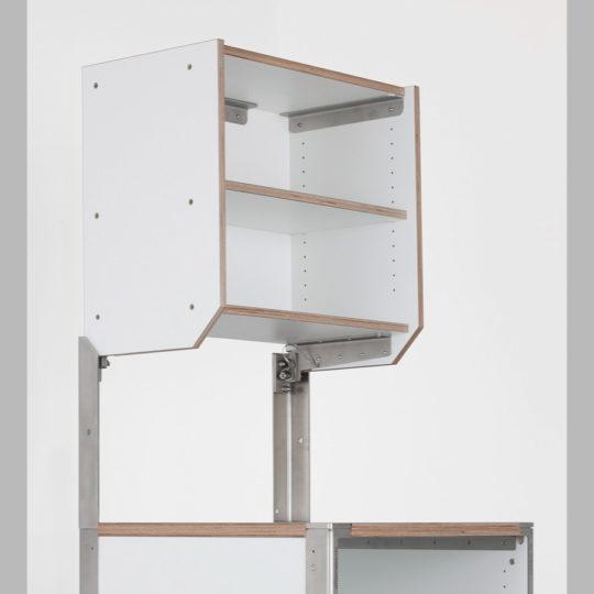 KOOLKITpremium / Aufbau-Modul / Oberschrank 1/2 mit einem Einlegeboden