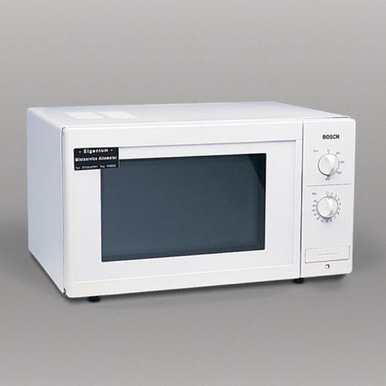Mikrowelle mit Drehteller, 600 W, 18 Liter Garraum