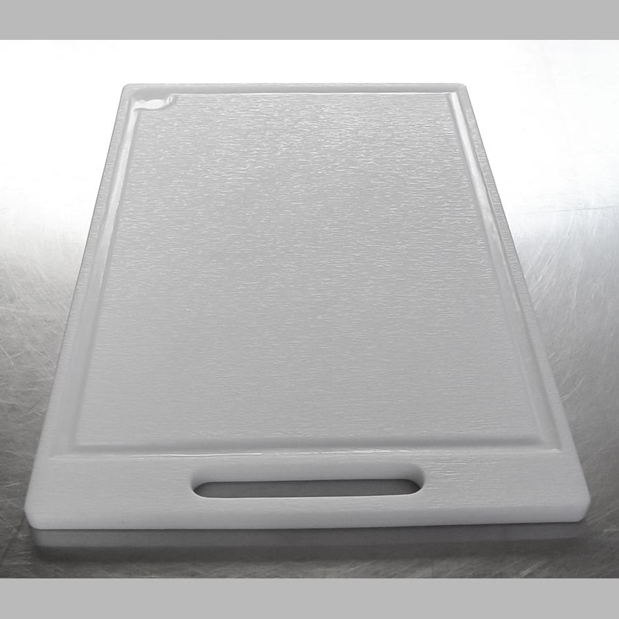 Schneidebrett Kunststoff, eckig, 440 x 300 mm