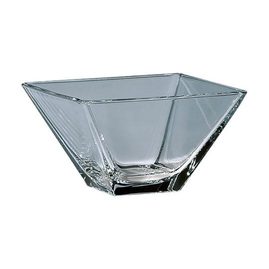 Schale eckig, 110 x 110 mm, Glas