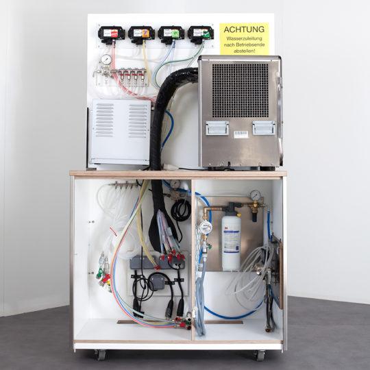 Postmix Anlage / Kühler, Pumpen, Wasseraufbereitung, Co²-Anlage sowie Carbonator  für max. 4 x Postmix 1 x Tafelwasser 2 x Bier