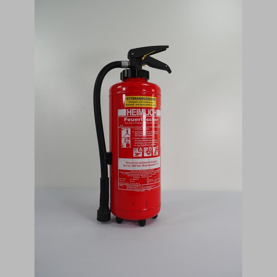 Fettbrandlöscher 6 Liter