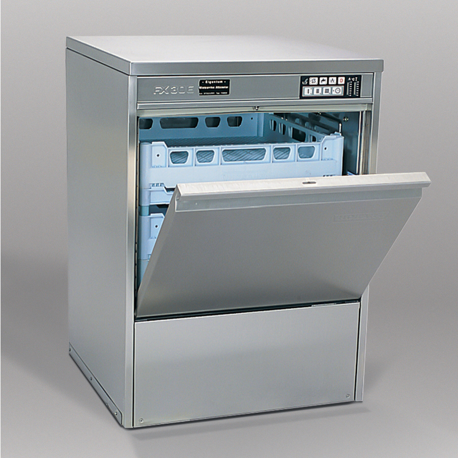 Geschirrspüler FX 30/40 3-6 Minuten, 400 V, Korb 500 mm, 1 Teller-, 1 Gläser-, 1 Universalkorb, 1 Besteckköcher