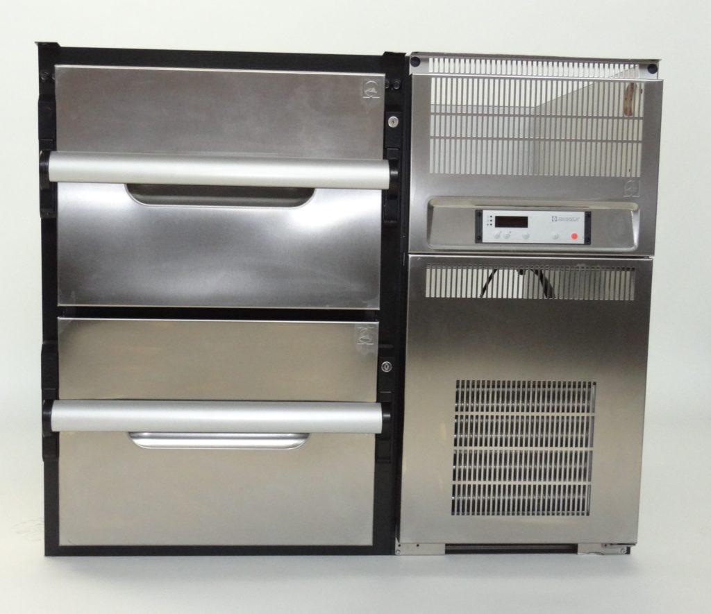 Unterbau-Thekenkühlschrank mit zwei Auszügen