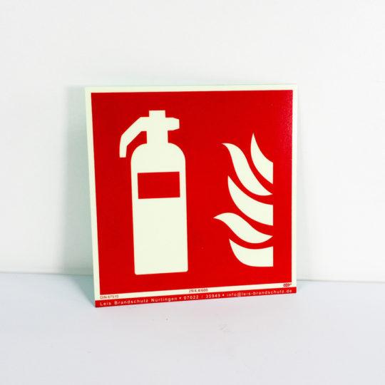 Hinweisschild Feuerlöscher