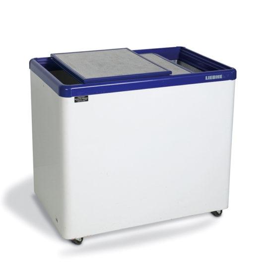 Verkaufstruhe gefrieren 240 Liter, mit Schiebedeckel, weiß