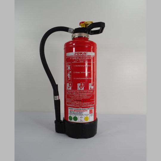 Feuerlöscher ABC Pulverlöscher 6 kg