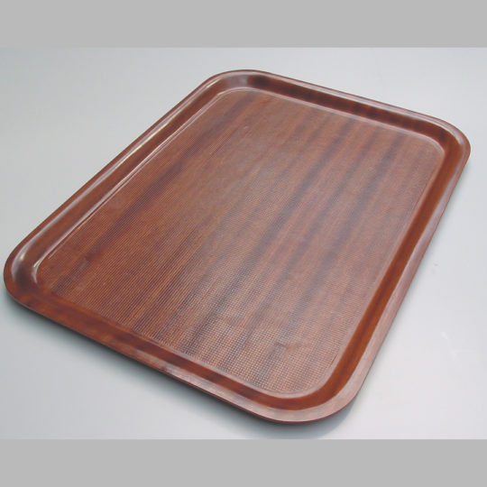 Tablett ca. 530 x 370 mm, braun
