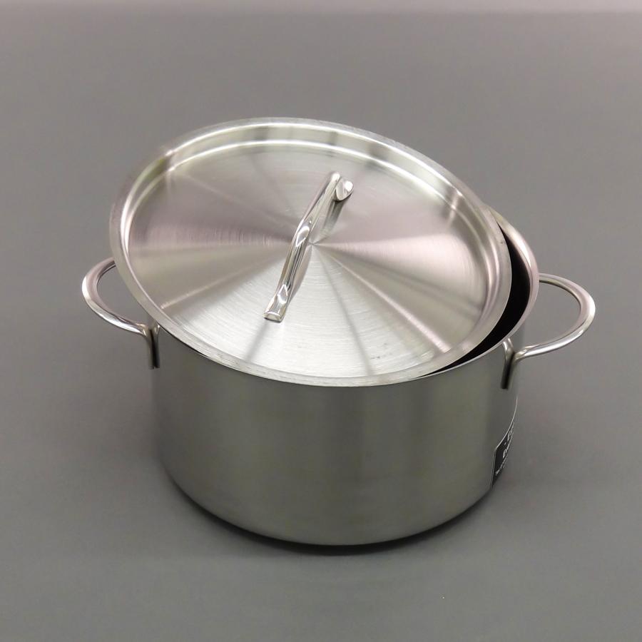 Edelstahltopf mit Deckel, 3 Liter, Induktion