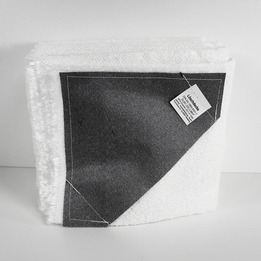Löschdecke  200 x 160 cm, weiß
