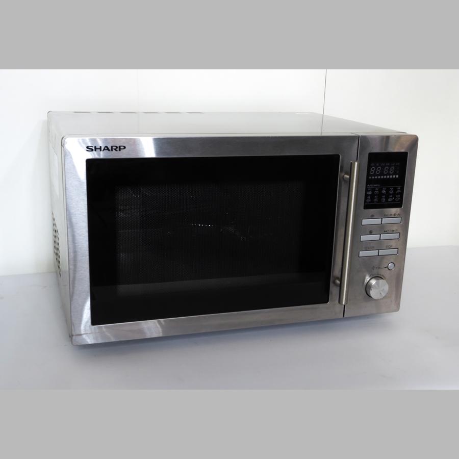 Kombi-Microwelle Backofen-Heißluft-Grill, 900 W / 230 V, 25 Liter Garraum