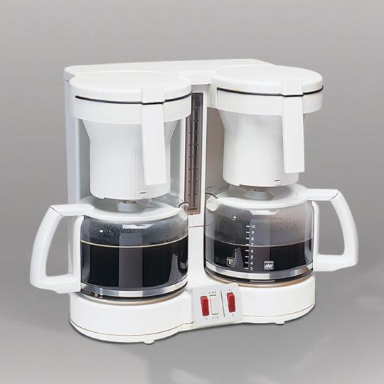 Duo-Kaffeeautomat mit Glaskannen, 2 x 10 Tassen