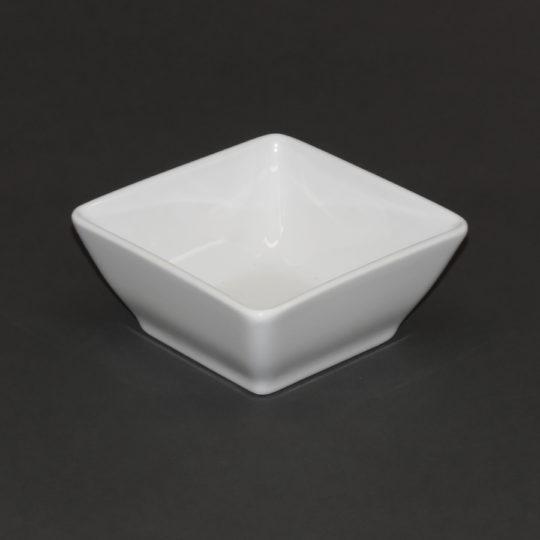 Schale eckig, 110 x 110 mm, weiß