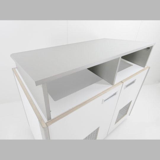 KOOLKITpremium / Einsatz-Modul / Kucheneinsatz zum schräg stellen für Frontcooking-Modul