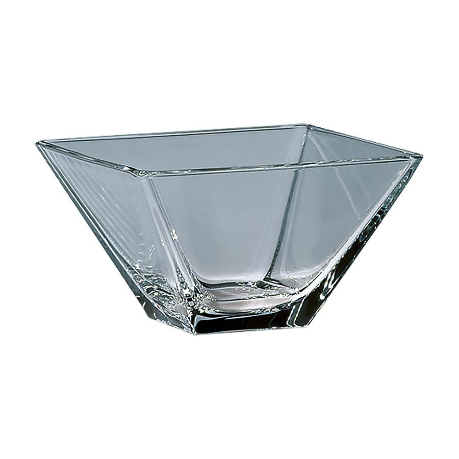 Schale eckig, 145 x 145 mm, Glas