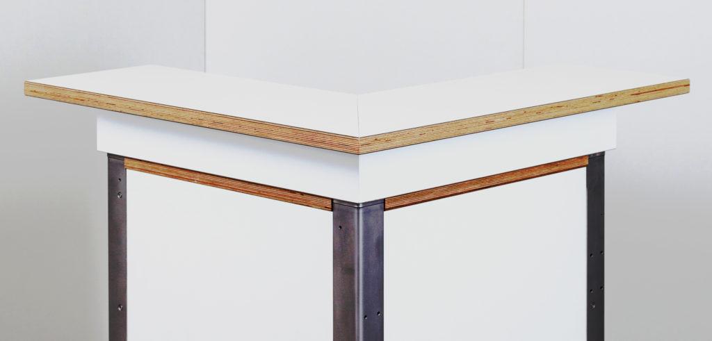KOOLKITpremium / Aufbau-Modul / Bartresen Ecklösung 90° links