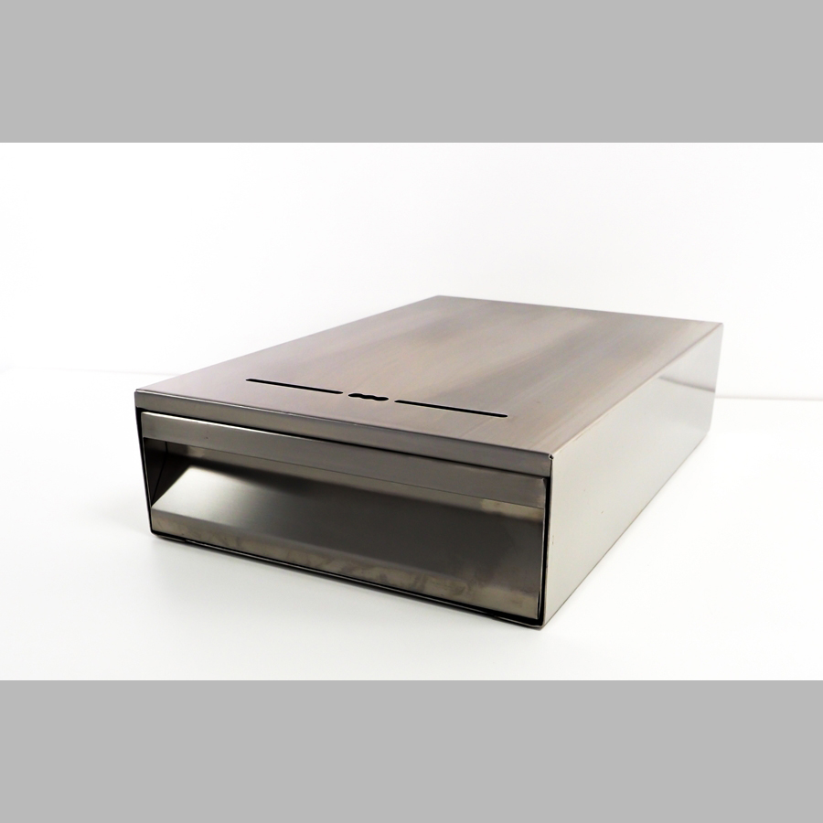 Klopfschublade für Siebträgermaschinen mit einem Auszug