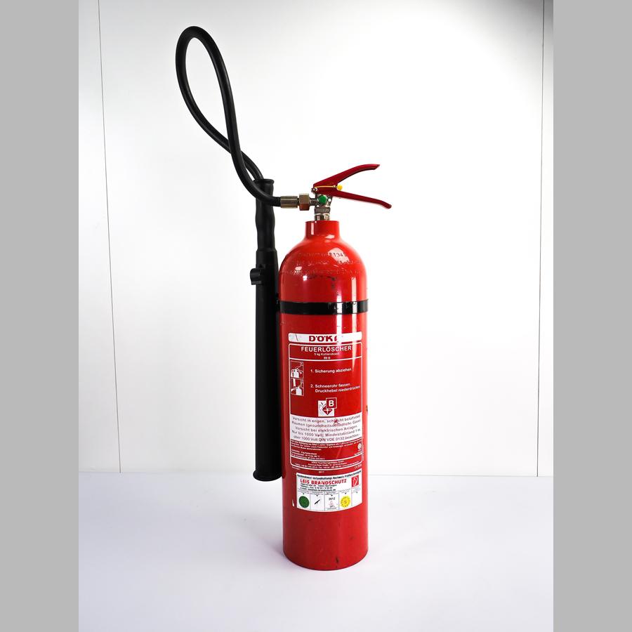 Feuerlöscher 5 kg, CO² Brandschutzklasse B