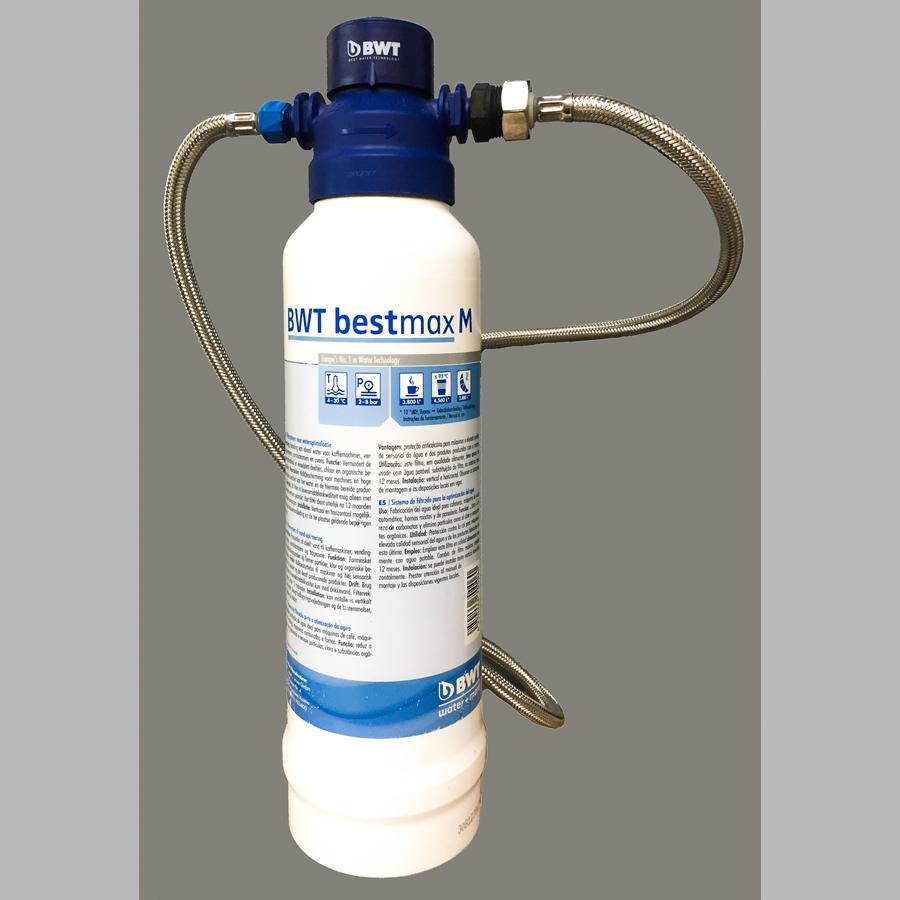 Entkalkungspatrone BWT Bestmax M (Blau) für Kaffeemaschinen