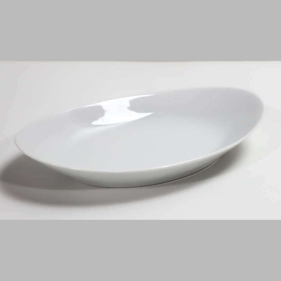 Schale oval flach, 220 mm, Unlimited, weiß