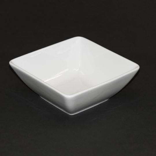Schale eckig, 145 x 145 mm, weiß