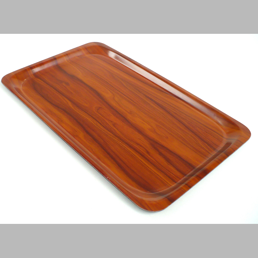 Tablett ca. 530 x 325 mm, rutschfest, braun (1/1 GN)