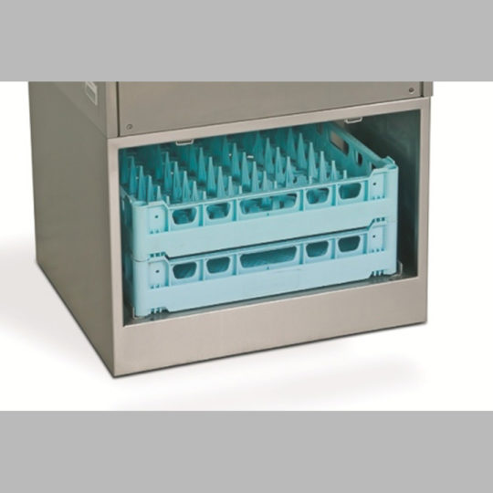 Untergestell edelstahl für Spülmaschinen mit Maß 600 x 600 mm