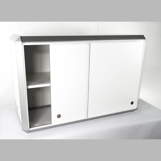 Combi 1 / System-Hängeschrank, B x H x T = 900 x 590 x 360 mm, weiß, ohne Türen