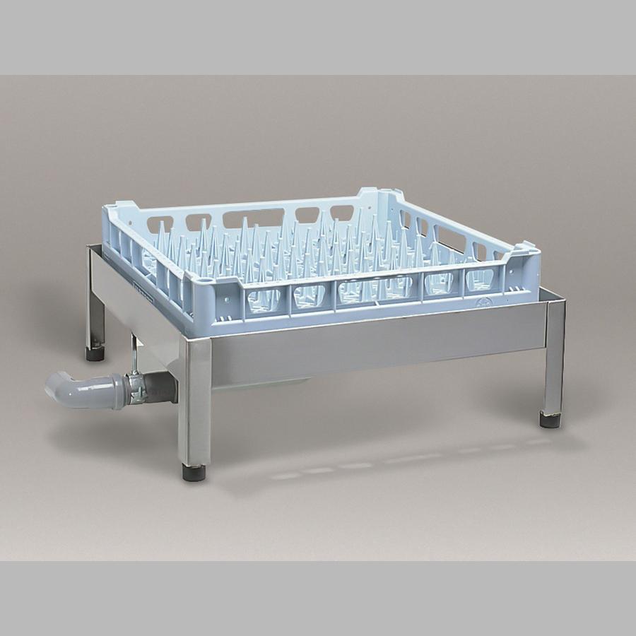 Abtropfvorrichtung edelstahl für alle Spülmaschinen mit Maß 600 x 600 mm