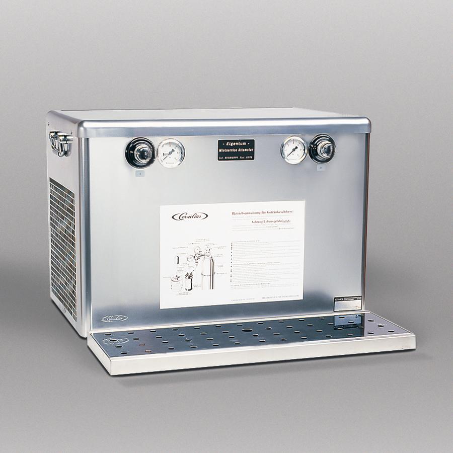 Durchlaufkühler für 2 Zapfstellen, Auftisch / Untertisch (Trockenkühler)