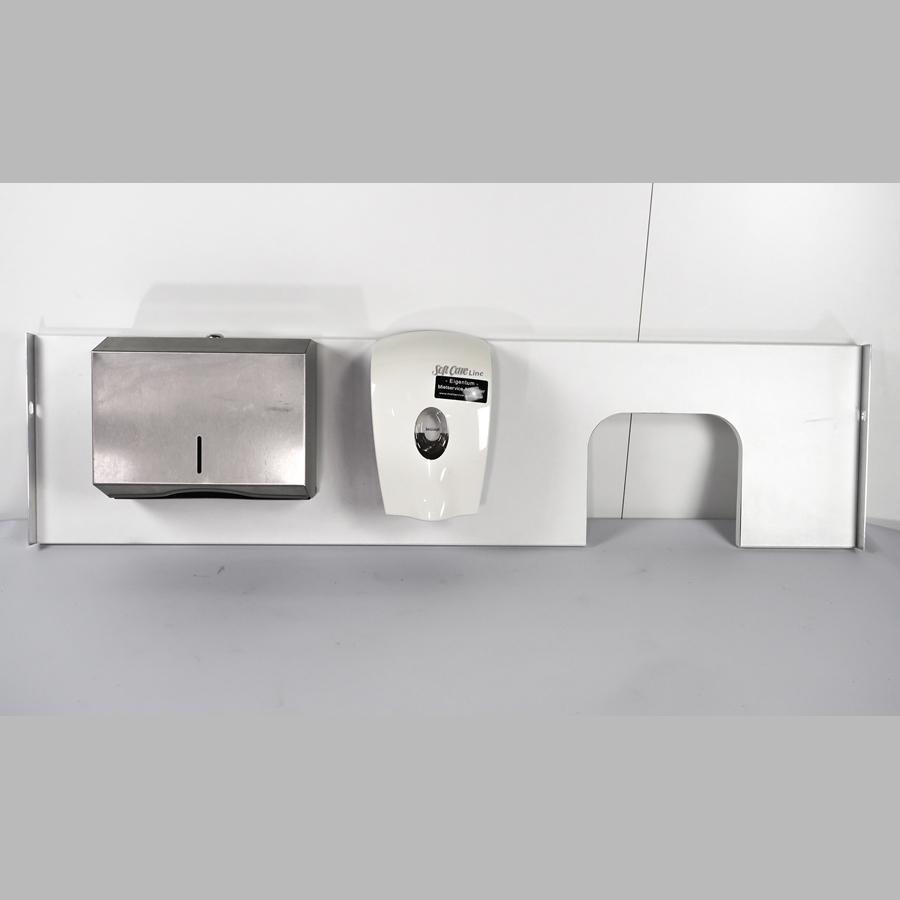KOOLKITpremium / Anbau-Modul / Montagebrett für Hygienestation