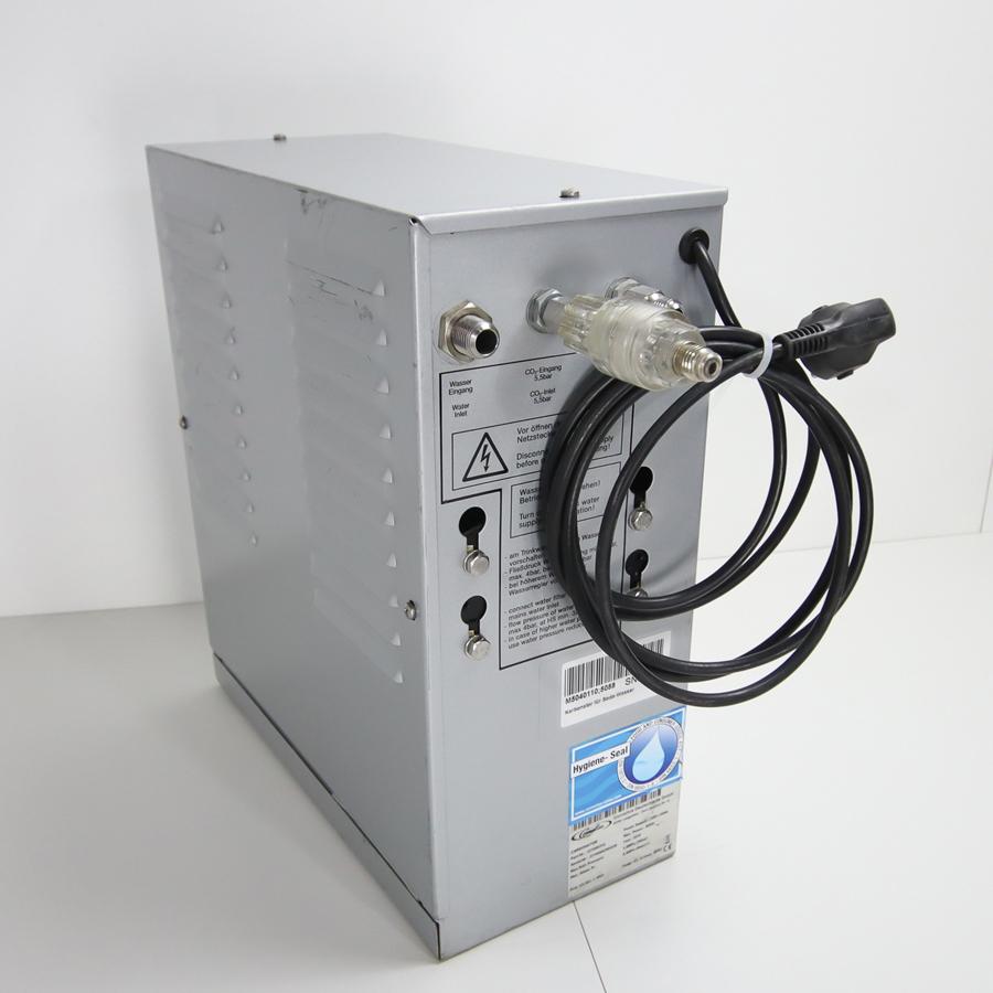 Karbonator für Soda-Wasser, 0,3 kW / 230 V, 16A Schuko-Stecker