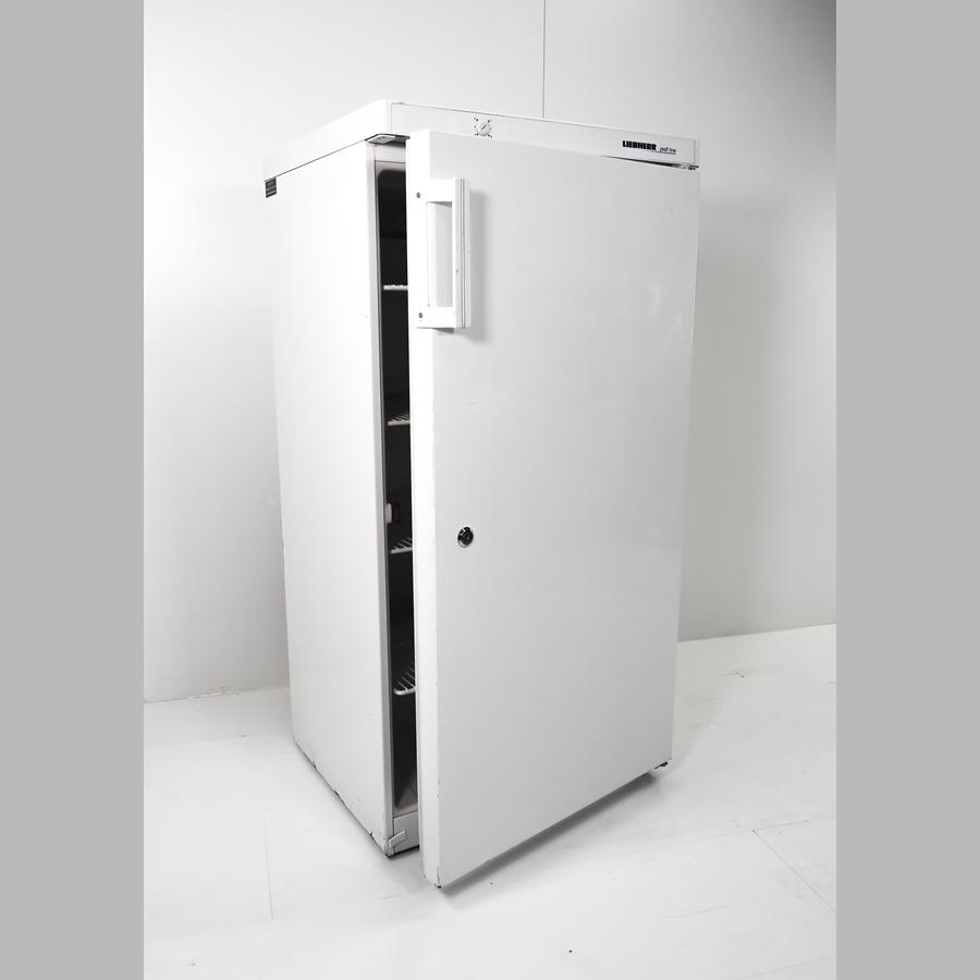 Flaschenkühlschrank 260 Liter, abschließbar, vier Einlegegitter, weiß
