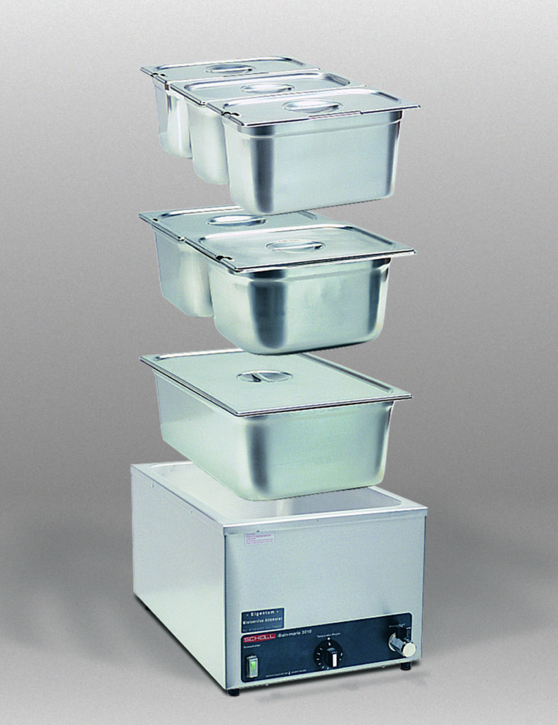 Bain-Marie (Speisewärmer) 1/1 GN 200 mm tief ohne GN-Einsätze