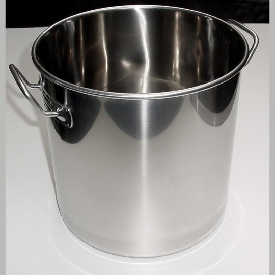 Edelstahlprofitopf 20 Liter