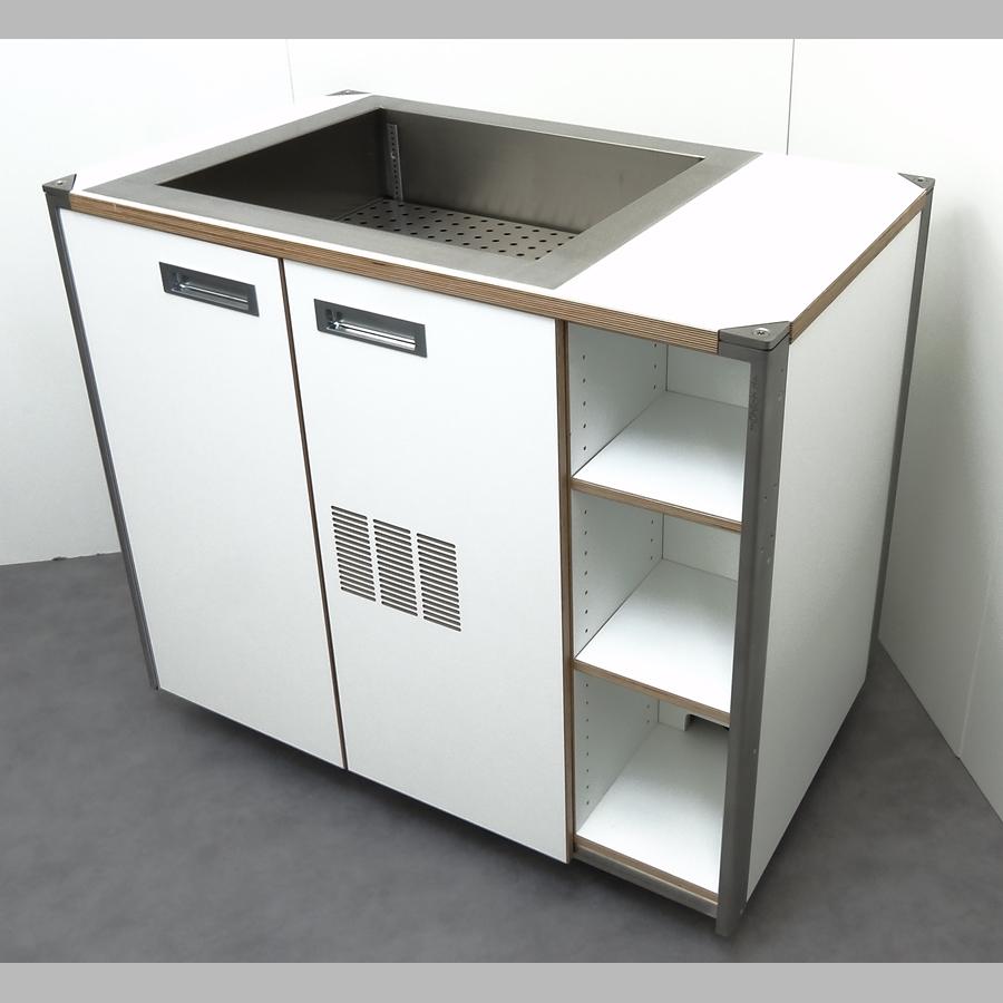KOOLKITpremium / Basis-Modul / Kühlelement, 2 x 1/1 GN