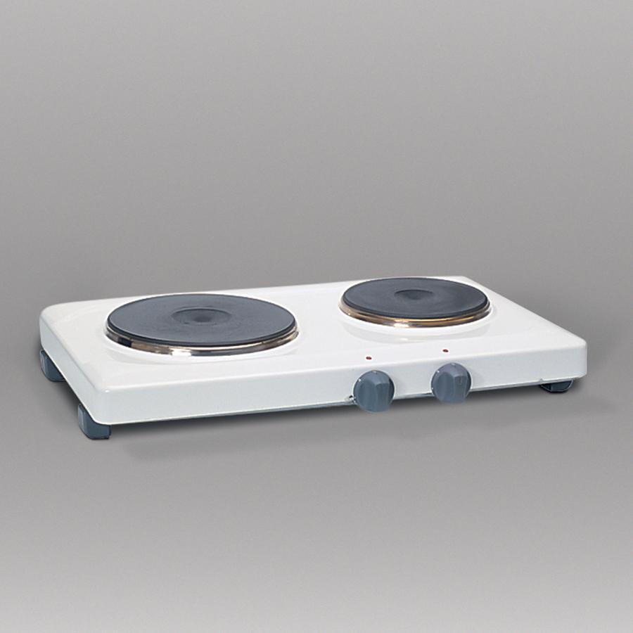 2-Platten-Elektrokochfeld, 230 V