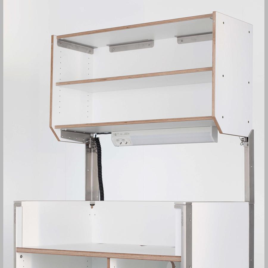 KOOLKITpremium / Aufbau-Modul / Oberschrank mit einem Einlegeboden