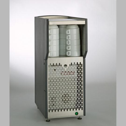 Bremer Viva Tassenwärmer und Milchaufbereiter, 230 V, anthrazit