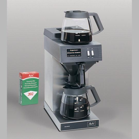 Gastro-Kaffeeautomat, 2 x 12 Tassen