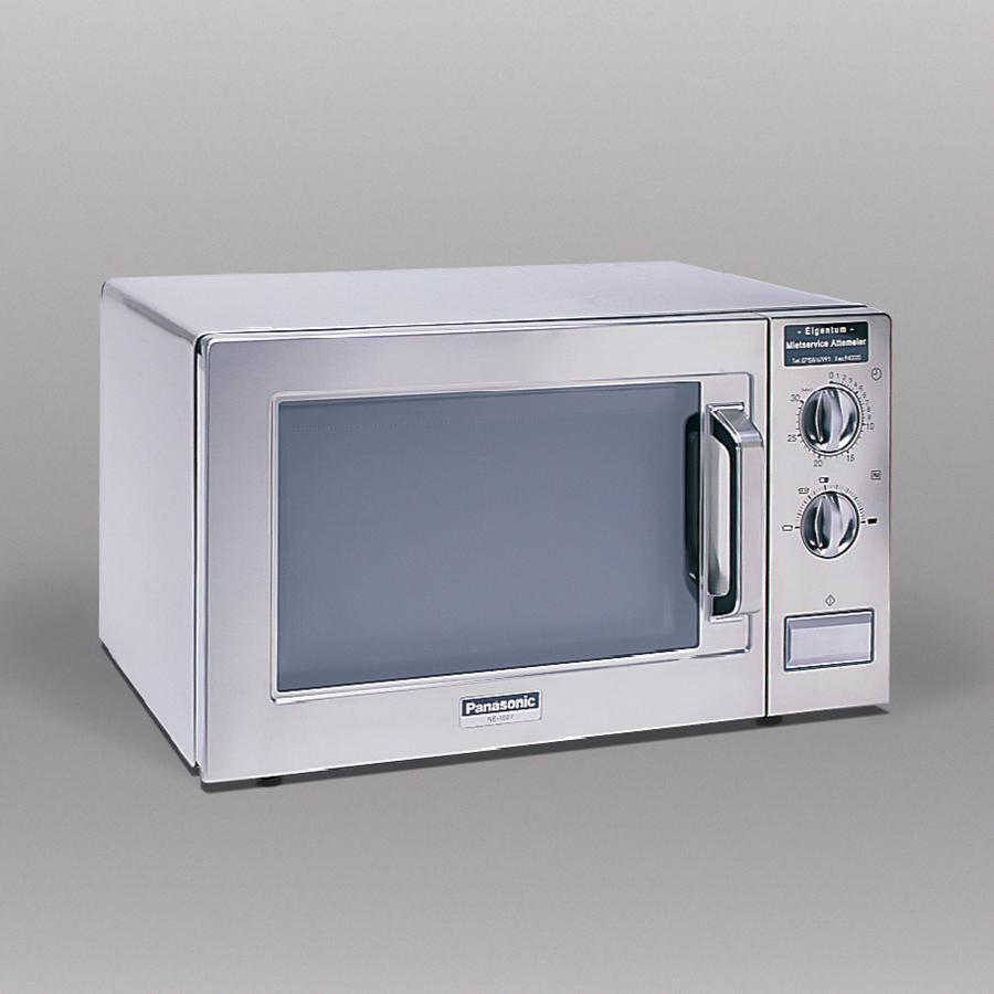 Gastro-Mikrowelle, 1000 W, 22 Liter Garraum, edelstahl