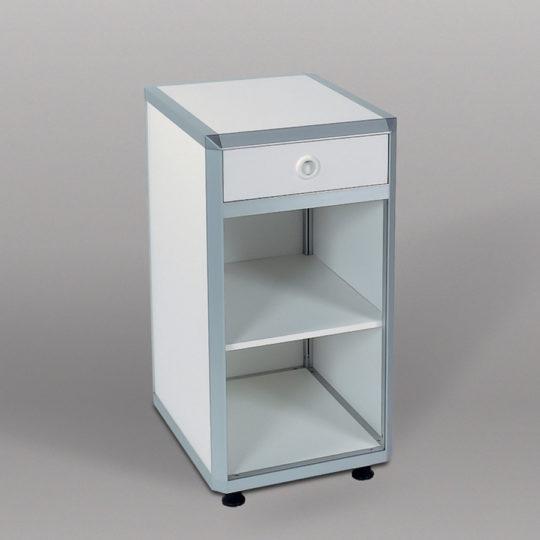Combi 1 / System-Unterschrank, B x H x T = 500 x 960 x 600 mm, weiß
