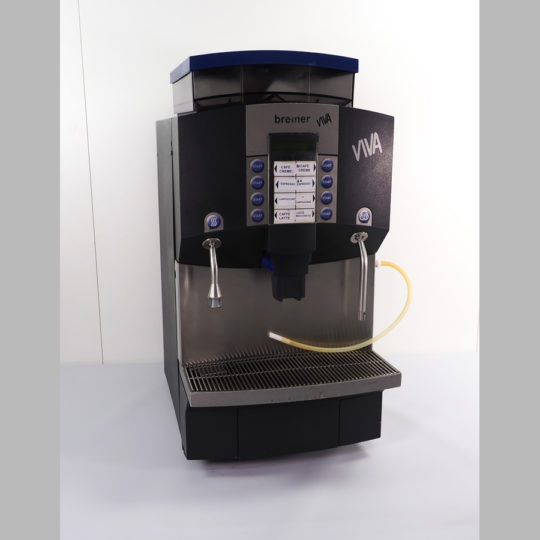 Bremer Viva 2 Mühlen, 400 V, Festwasseranschluss, Kaffee, Espresso, Cappuccino, Milchkaffee, Latte-Macchiato