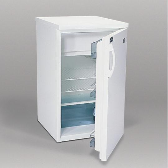 Standard Kühlschrank 140 Liter, Deckel abnehmbar, weiß