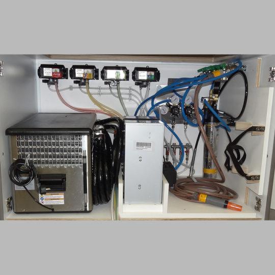 KOOLKITpremium / Schank-Modul / Postmix-Einbau-Installationsträger