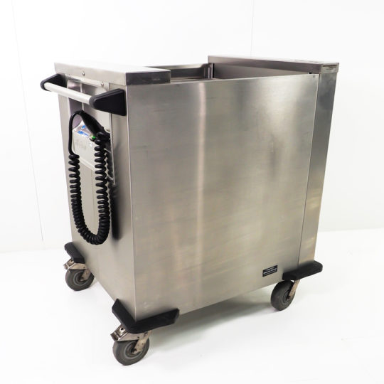 Tellerwärmer/Plattformstapler, 230 V, 530 x 505 mm, Rieber für Rechteckteller und Schalen