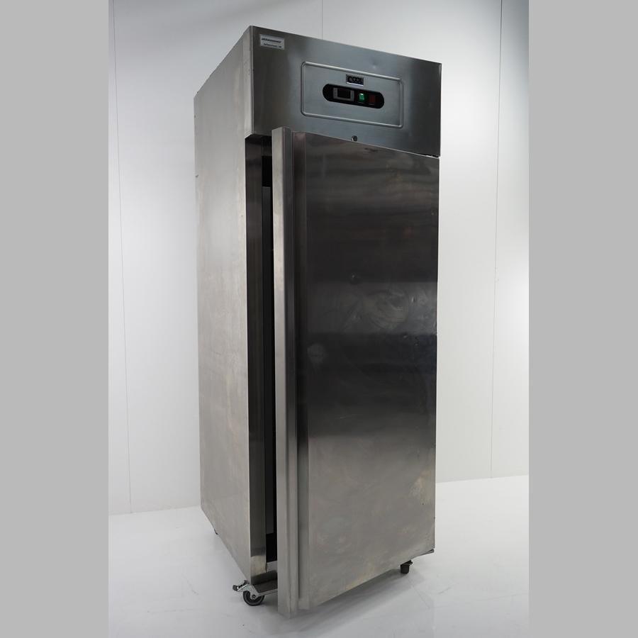 Gewerbekühlschrank 700 Liter / KU710,  2°- 8°, für GN-Bleche, edelstahl