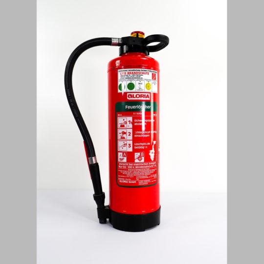 Feuerlöscher 6 kg, Schaum Brandklasse A/B (9LE)