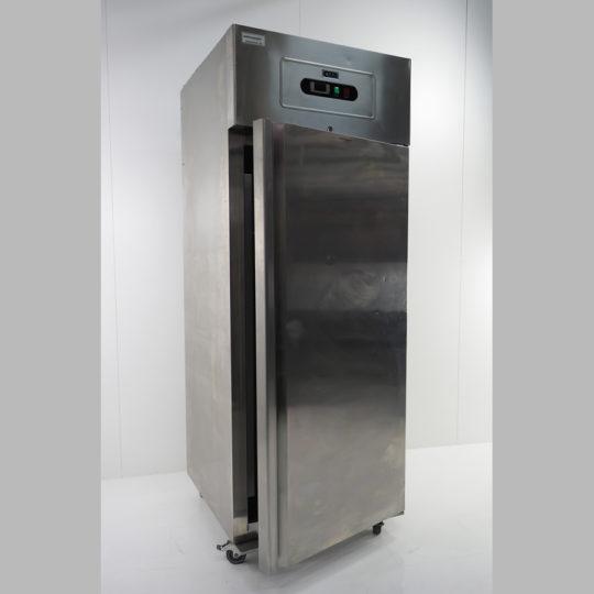 Gewerbetiefkühlschrank 700 Liter, TKU,2 1/1 GN, edelstahl