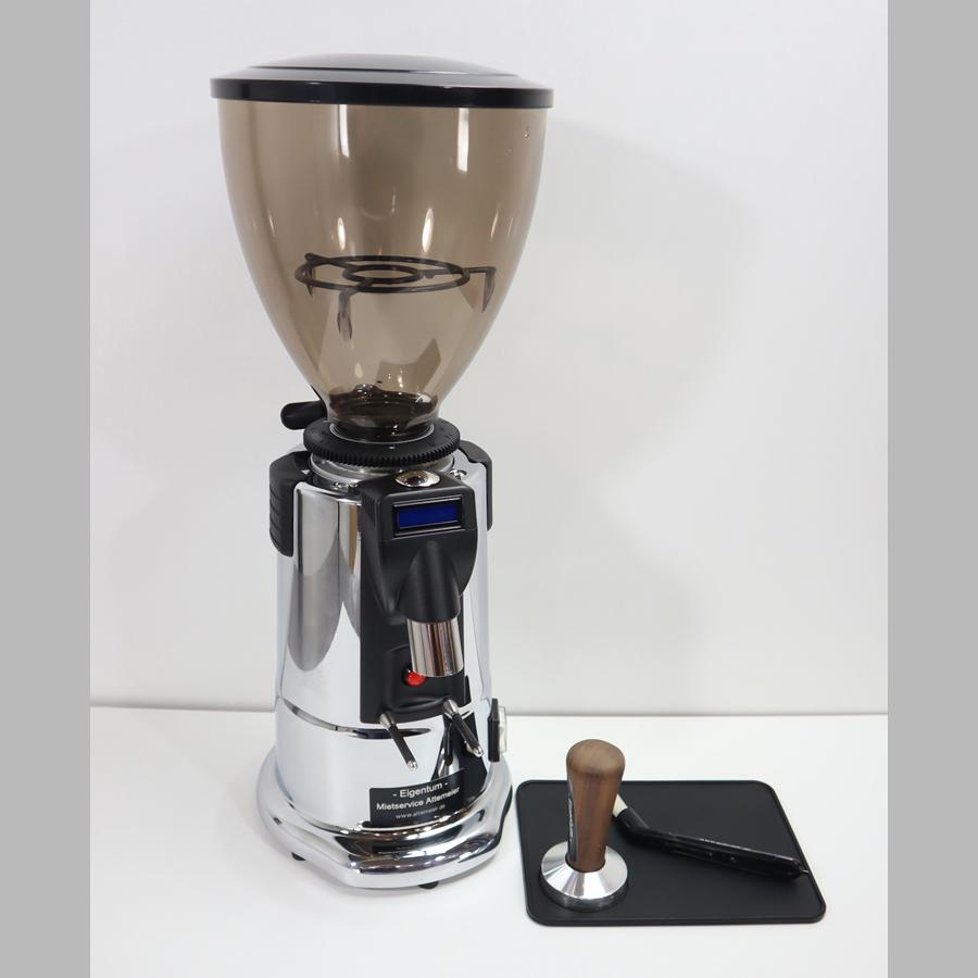 Dosiermühle für Siebträgermaschine Fassungsvermögen 1 kg incl. Tamper und Tampermatte